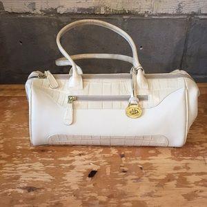 Brahmin Cream Handbag